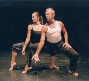 dancers; Liz Lea and Patrick Harding Irmer